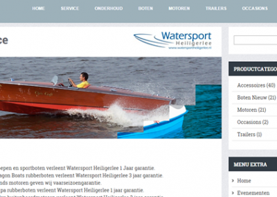 Watersport Heiligerlee