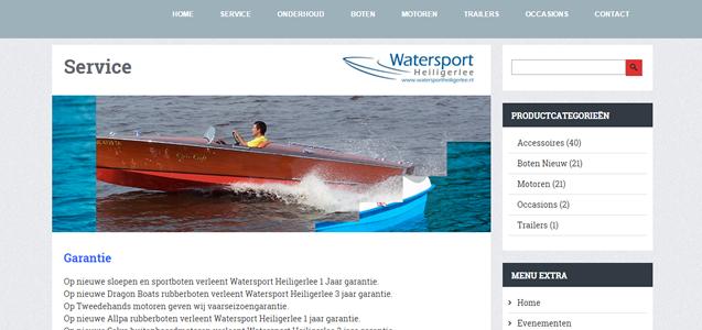 Watersport Heiligerlee