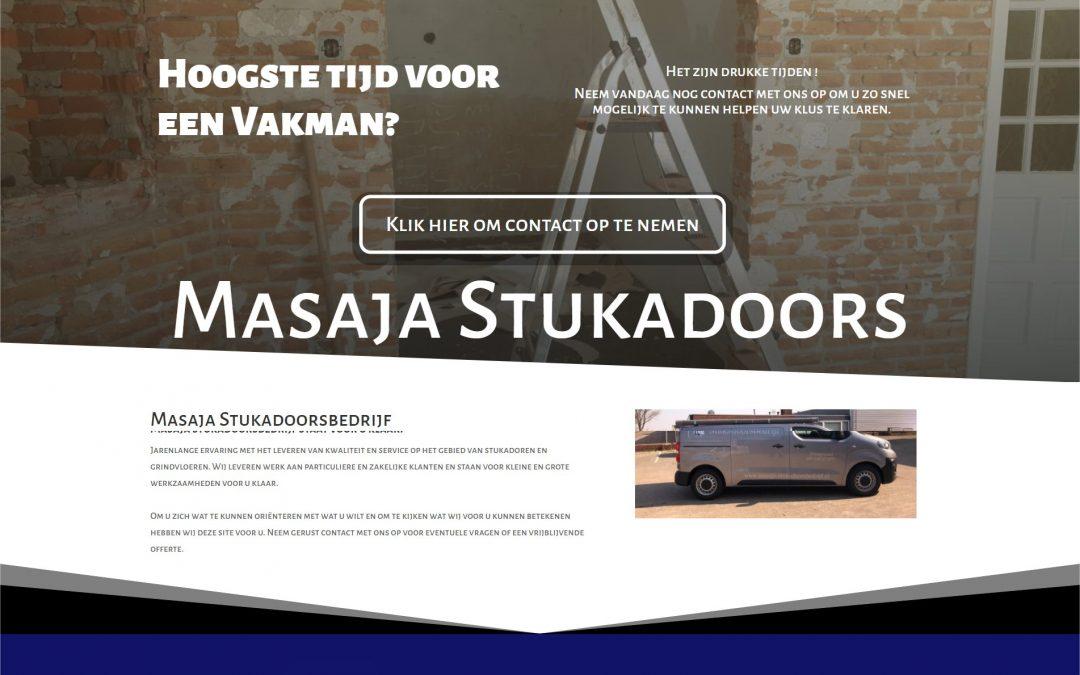 Masaja Stukadoorsbedrijf uit Hoogezand