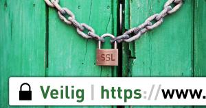 Veilige website met SSL bij Update-Website.nl