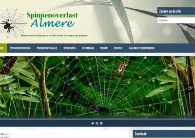 Spinnenoverlast Almere