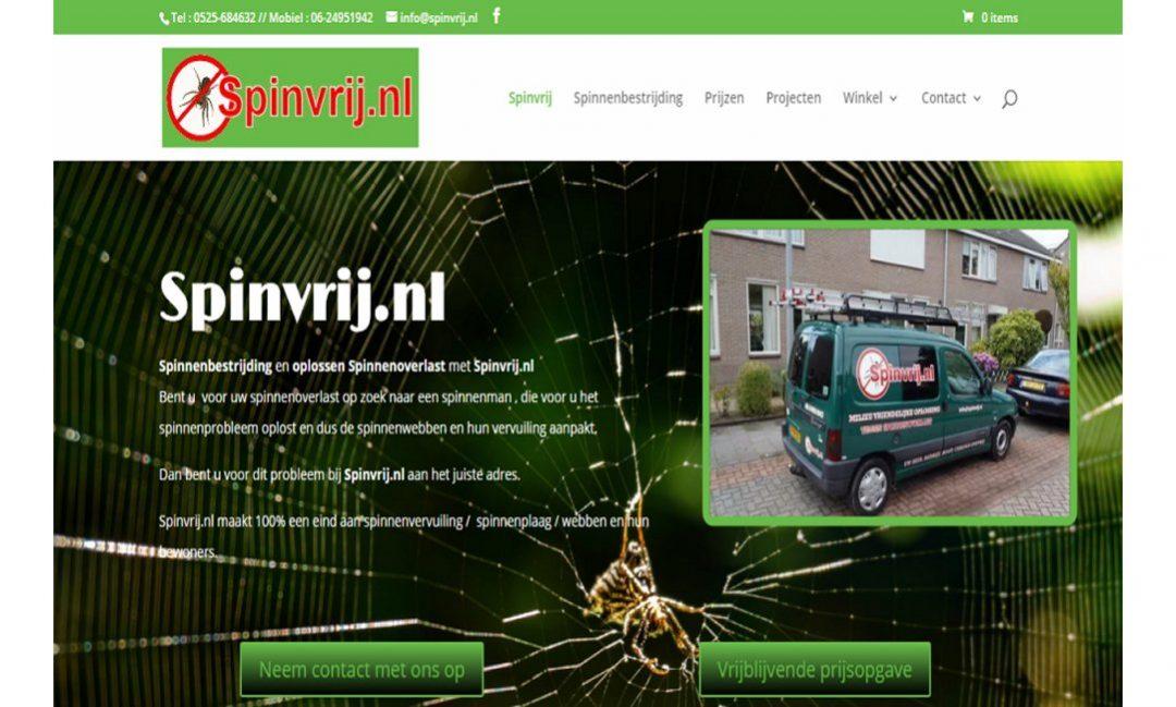 spinvrij update-website webdesign